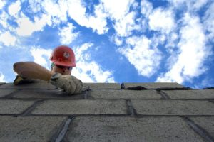 Hardhat Clouds Construction Sky Brick Layer Man